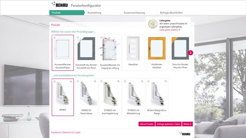 fensterbau schlewitz plauen oberlosa rehau fensterkonfigurator. Black Bedroom Furniture Sets. Home Design Ideas